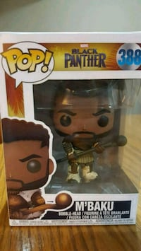 Marvel M'Baku Pop Doll Exclusive Bobblehead $40 Mississauga