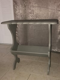 black and gray wooden side table Cherry Hill, 08002