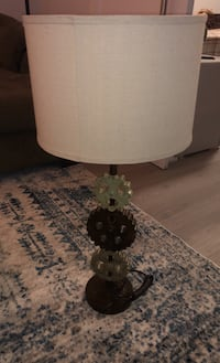 Lamp - Gear styling. 36' tall. Very nice quality. Heavy duty lamp.