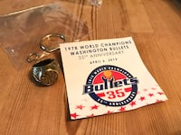 NBA Washington Bullets Wizards replica champion ring Alexandria, 22305
