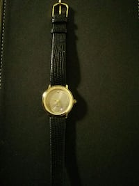 Genui leather gold watch Malmö, 214 43