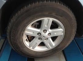 3 Firestone tires in great condition for Ford Escape