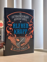 The Extraordinary Adventures of Alfred Kropp by Rick Yancey book Alexandria, 22304