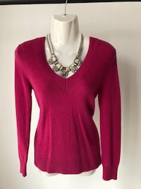 Pink Banana Republic sweater
