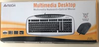 A4 tech KB-2162D PS/2Q TR MULTİMEDYA KLAVYE + MOUSE SETİ  Seyhan, 01070