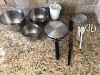 3 STAINLESS STEEL BOWLS, PERFECT PANCAKE MAKER, PANCAKE SQUIRTER FOR NO MESS, STRAINER, PEELER, and more...   Lanesville, 47136