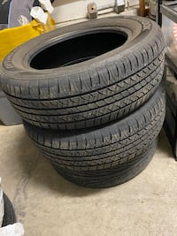 Three all season tires 215/60r16  Caledon, L7C 1B3