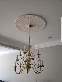 Gold Chandelier  Ashburn