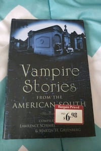 Vampire stories from the American South Catonsville, 21228
