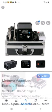 Menovo to smoke wax needs Heater coil  Las Vegas, 89118