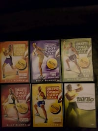 Billy's Boot Camp DVDs  Brampton, L6S 2L7