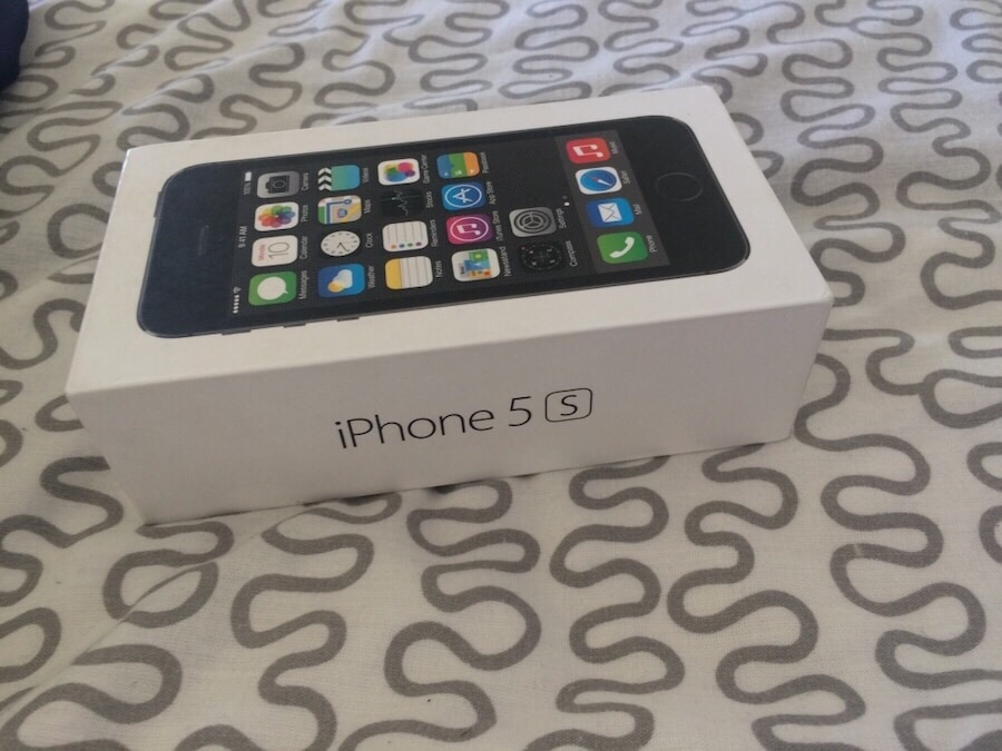 Iphone 5S Space grey 16gb - France
