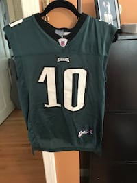 black and gray NFL Eagles 10 jersey Bristol, 02809