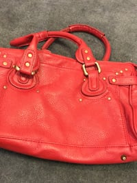red leather Coach tote bag Calgary, T3K 5L5