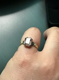 Size 3 antique pinky ring with light amethyst Miami Beach, 33139