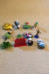 McDonald's toys and other toys 0.25 silver mario sold 10.00 for all King, L7B 1C6