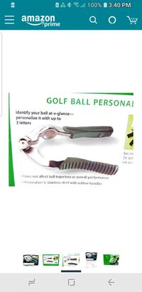 Golf ball personalizer Springfield, 45503