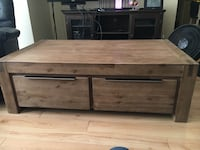 Large Solid Wood Coffee Table Edmonton, T6V 1Y4