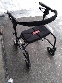 """Dana Douglas Nexus 3 Rollator Walker - 2 Sizes Available Very Good Condition!  Measurements: 1st one:   17.5"""" apart handle to handle inside measurement 19"""" to the top of the seat from floor Handle heights are adjustable to person's height   2nd one:  17.5 Toronto"""