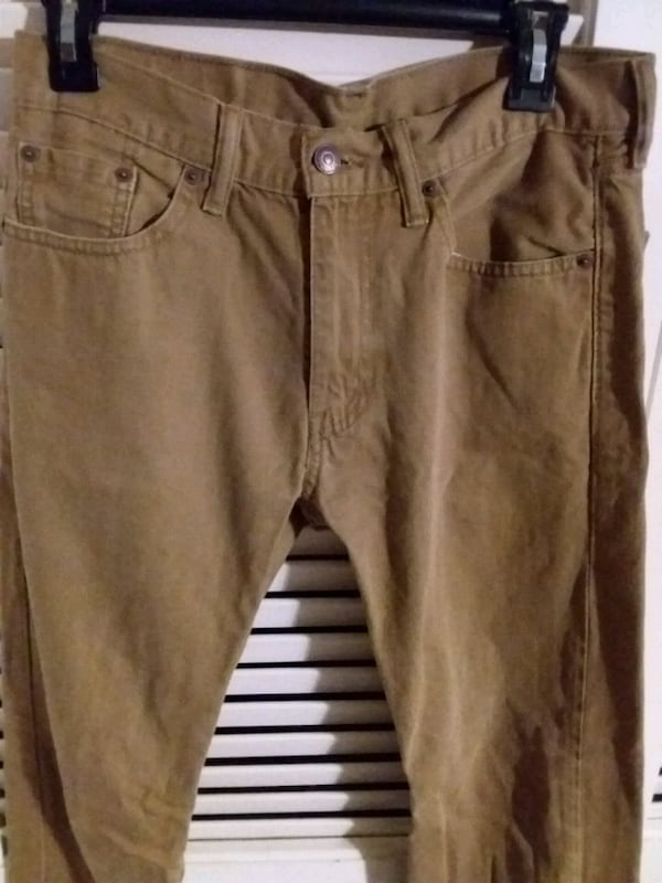 Levi's W30 L32 Brown Tan Khaki Pants Levi Strauss  4