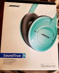 green and white Bose wireless headphones box Vancouver, V5T 1V9