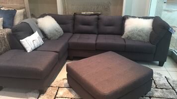 MONTHLY SPECIAL!!! Grey Sectional