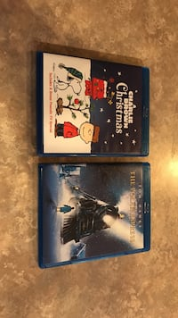 $15 for both A charlie brown christmas and polar express blu-ray $15 for both Chandler, 85248