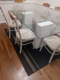 Dining table with chair Ashburn