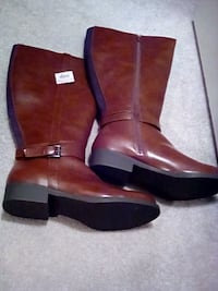 Brand new with tags... Women's Knee High Boots 8.5 VIENNA