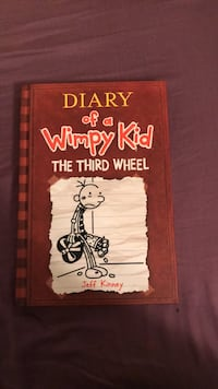 Diary of a Wimpy Kid the third wheel by Jeff Kenney book Newton, 07860
