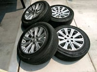 "17"" Wheels Only Set of Four Run Flats  Las Vegas, 89113"
