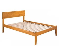 Wood Full Size Platform Bed