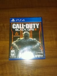 Call of Duty Black Ops 3 PS4 game case Tallahassee, 32303