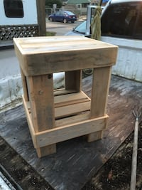 Rustic Country Side Table