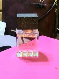 clear glass perfume bottle with box 1360 mi
