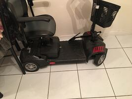 4 Wheel Drive Scooter