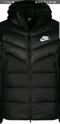Medium Black nike bubble jacket