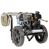 SIMPSON Cleaning MS60763-S MegaShot Gas Pressure Washer Powered by Kohler RH265, 3100 PSI at 2.4 GP Vaughan