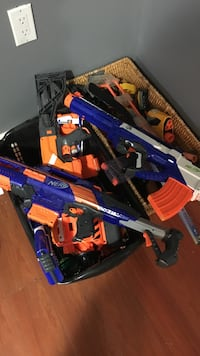 Assorted Nerf Guns  Brampton, L6W 1E5