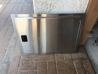 Bbq gas stove burner and refrigerator stainless steel cover Los Angeles, 90731