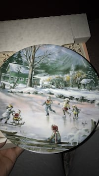 Seems like yesterday. Knowles China plate.