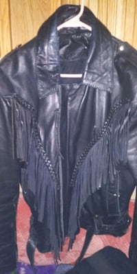 Nice leather jacket thick leather lg St. Cloud, 56301
