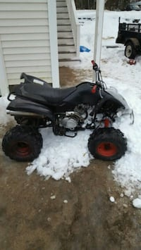 black and gray ATV quad bike Ossipee, 03814