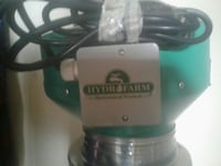 teal and gray Hydro Farm power tool Pixley, 93256