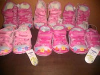 toddler's assorted pairs of shoes Los Angeles, 90002