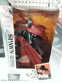 Spawn 12 inch collectibles
