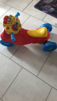 toddler's red and yellow ride on toy Chantilly, 20151