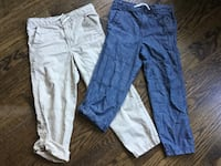 Size 4/5 toddler pants both for 20 like new
