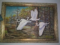 Hand painted and signed by JB Johnson Woodburn, 97071