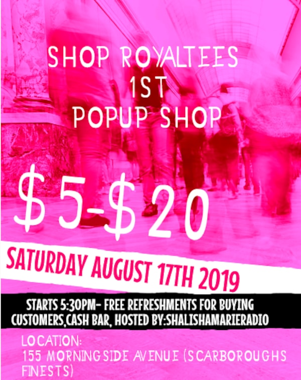pop up shop THIS SATURDAY AUGUST 17TH 2019!!! STRTS 5:30PM TO 9:30PM!
